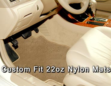 22oz tuffed Nylon Floor mats