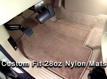 28oz tuffed Nylon Floor mats