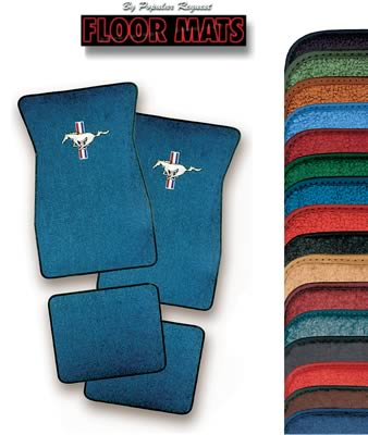 OEM Color & Material Floormats